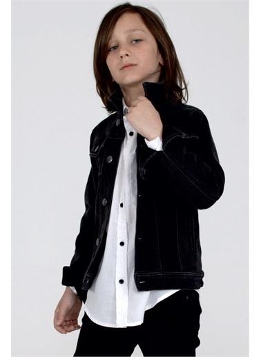 Silversun Kids Yakalı Önden Düğmeli Uzun Kol Erkek Çocuk Ceket Ck 314847 Siyah